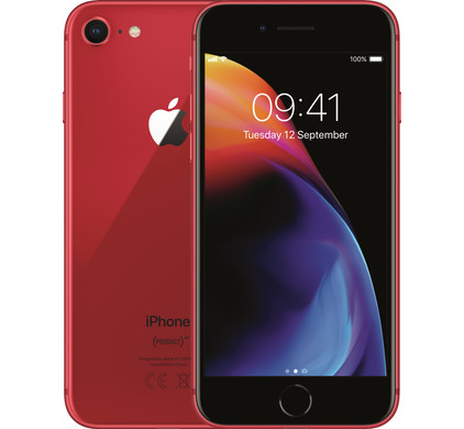 Apple iPhone 8 64GB RED - Coolblue - Voor 23.59u, morgen in huis