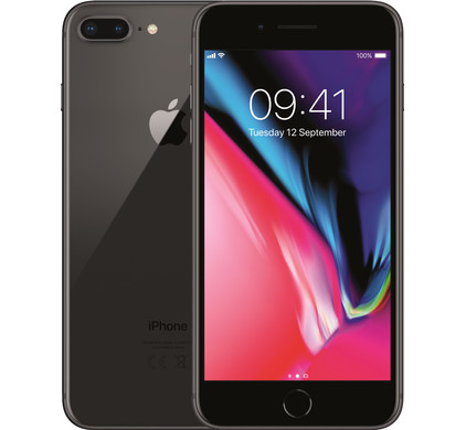 Apple iPhone 8 Plus 256GB Space Gray - Coolblue - Voor 23.59u, morgen in huis