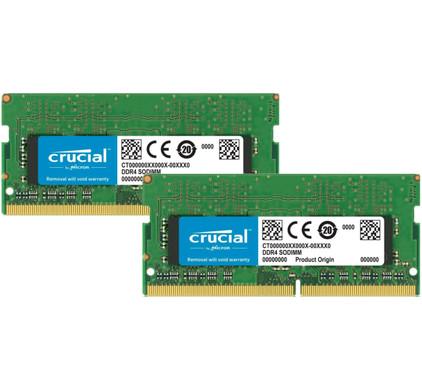 Crucial Apple 32GB DDR4 SODIMM 2400MHz 2x16 GB