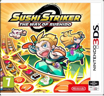 Sushi Striker: The Way of Sushido 3DS Main Image