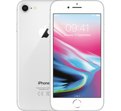 Apple iPhone 8 64GB Zilver - Coolblue - Voor 23.59u, morgen in huis