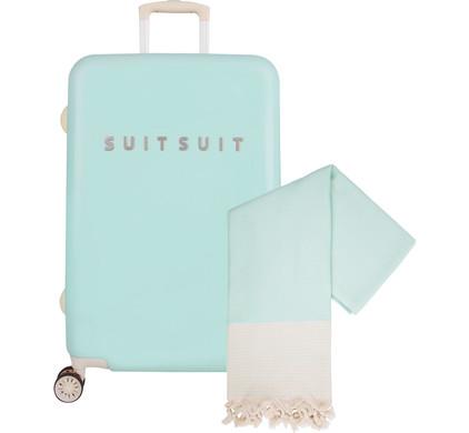 SUITSUIT Fabulous Fifties Spinner 66cm Luminous Mint
