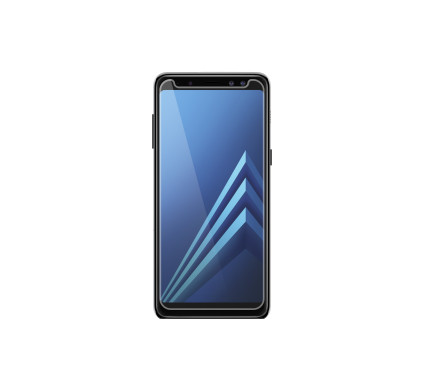 Otterbox Clearly Protected Alpha Glass Samsung Galaxy A8 (2018) Screenprotector Glas - Coolblue - Voor 23.59u, morgen in huis
