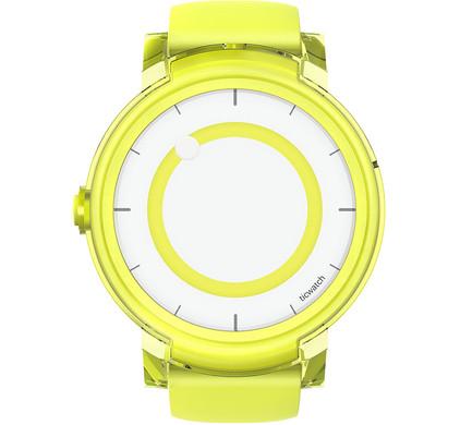 Ticwatch E Smartwatch Lemon