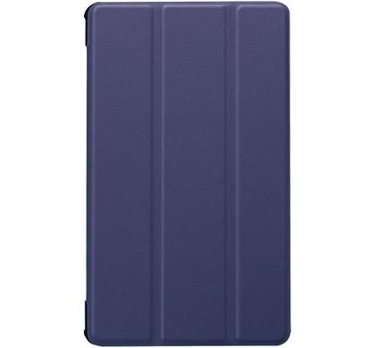 Just in Case Tri-Fold Huawei MediaPad M5 8 Book Case Blauw