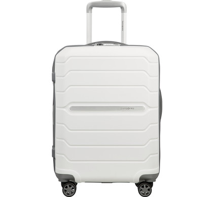 Samsonite Flux Expandable Spinner 55cm White