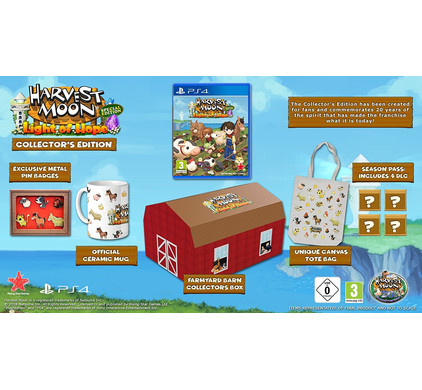Harvest Moon - Light of Hope Collector's Edition PS4