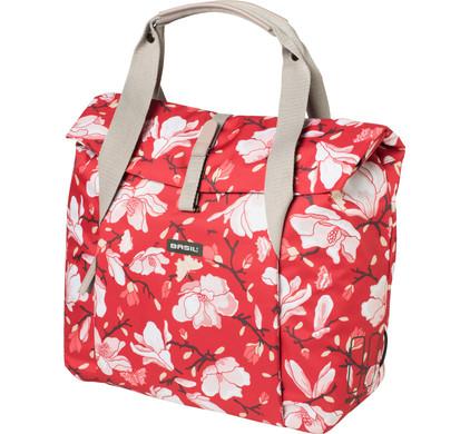 Basil Magnolia Shopper 18L Poppy Red