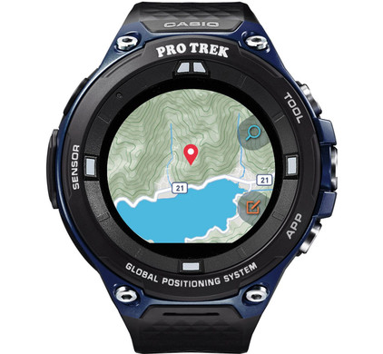Casio Pro Trek Smart Outdoor Blue Main Image