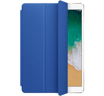 Apple iPad Pro 10,5 inch Leren Smartcover Electric Blue