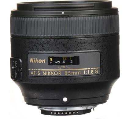 Nikon AF-S 85mm f/1.8G NIKKOR Main Image