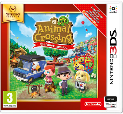 Animal Crossing New Leaf Select 3DS Main Image