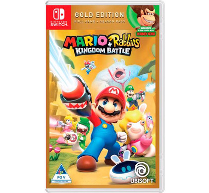 Mario + Rabbids: Kingdom Battle (Gold Edition) Switch