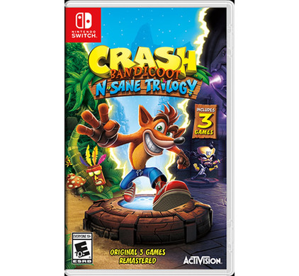 Crash Bandicoot N.Sane Trilogy Nintendo Switch