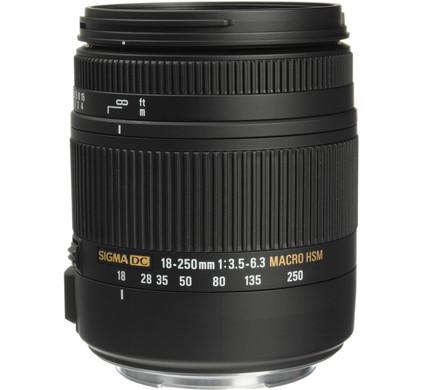 Sigma EF-S 18-250mm f/3.5-6.3 DC Macro OS HSM Canon Main Image