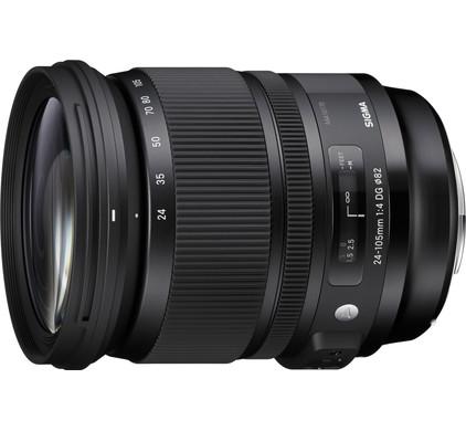 Sigma 24-105mm f/4 Art DG HSM Sony Top