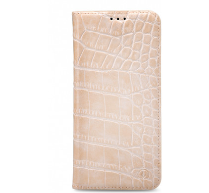 Mobilize Premium Gelly Alligator Samsung Galaxy J7 (2017) Book Case Roze
