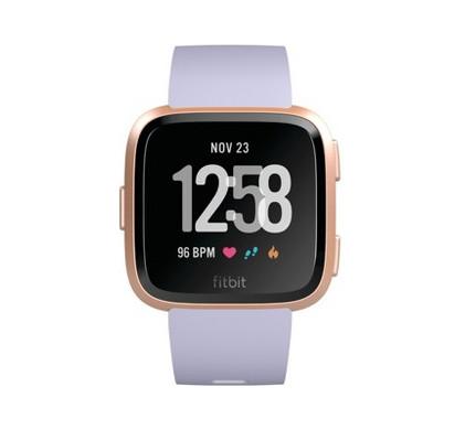 Fitbit Versa Rose Gold/Periwinkle Main Image