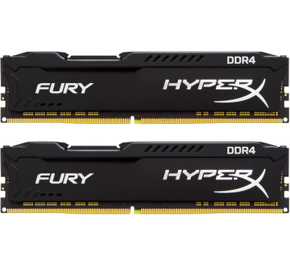 Kingston Hyper X FURY Black 16GB 2666MHz DDR4 DIMM 2 x 8 GB