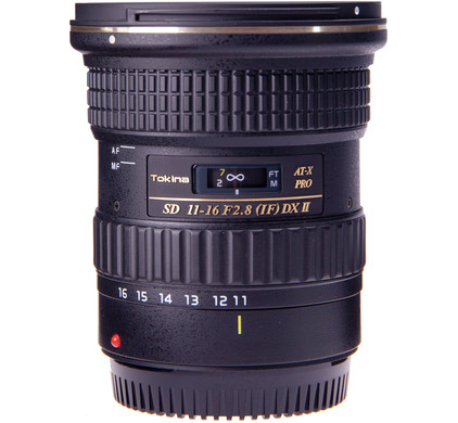 Tokina AT-X 11-16mm f/2.8 Pro DX II Canon Front