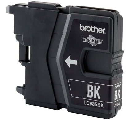 Brother LC-985BK (Zwart) Left side