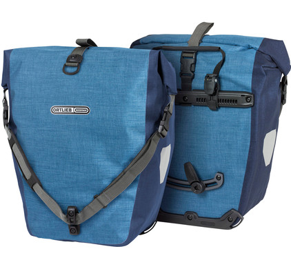 Ortlieb Back-Roller Plus QL2.1 Denim/Steel-Blue (paar)