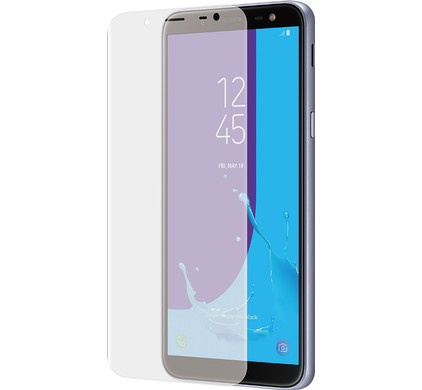 Azuri Samsung Galaxy J6 (2018) Screenprotector Curved Gehard Glas - Coolblue - Voor 23.59u, morgen in huis