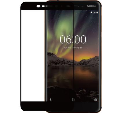 Azuri Nokia 6 (2018) Screenprotector Gehard Glas Zwart - Coolblue - Voor 23.59u, morgen in huis