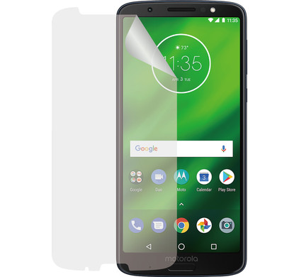 Azuri Motorola Moto G6 Plus Screenprotector Plastic Duo Pack - Coolblue - Voor 23.59u, morgen in huis