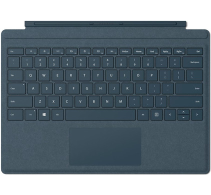 Microsoft Surface Go Type Cover QWERTY Blauw