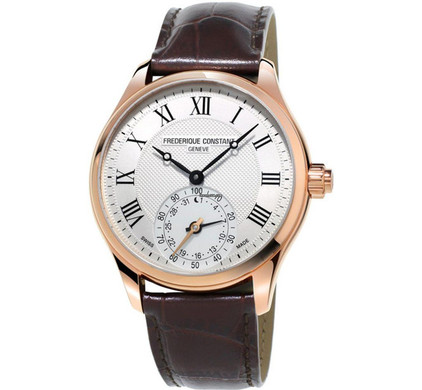 Frederique Constant Horological Gents Classic White/Brown Main Image