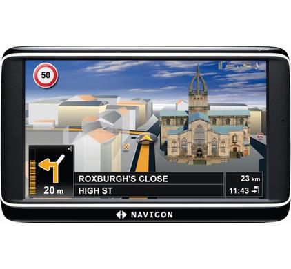 Navigon 70 Premium Live + Tas + Thuislader + Dashboard Donut