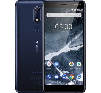 Nokia 5.1 Blauw - Coolblue - Voor 23.59u, morgen in huis