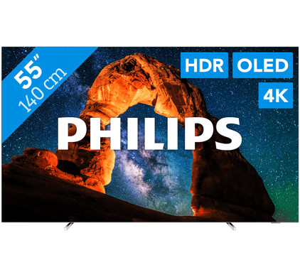 Philips 55OLED803 - Ambilight Main Image