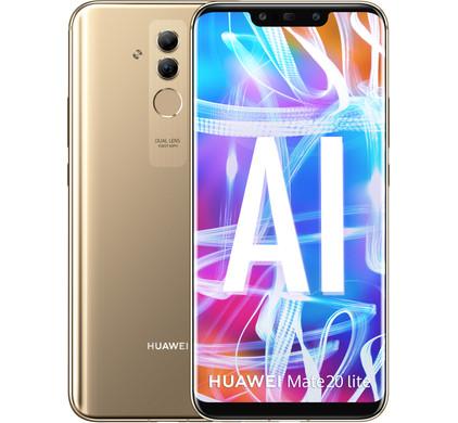Huawei Mate 20 Lite Goud - Coolblue - Voor 23.59u, morgen in huis