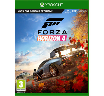 Forza Horizon 4 Xbox One Packaging