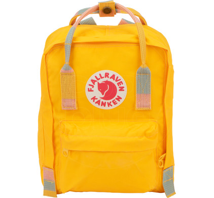 e622c31614 Fjällräven Kånken Mini Warm Yellow-Random Blocked - Kids Backpack Main  Image ...