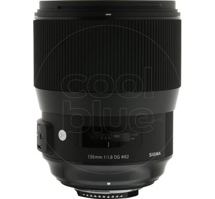 Sigma 135mm f/1.8 DG HSM A Nikon Main Image