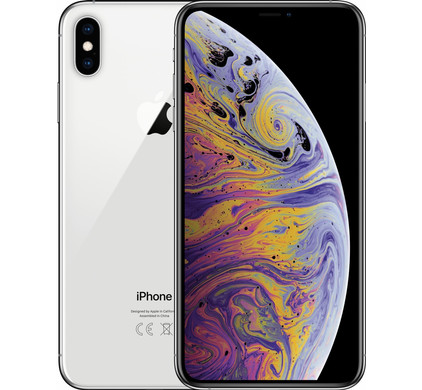 Apple iPhone Xs Max 256 GB Zilver - Coolblue - Voor 23.59u, morgen in huis