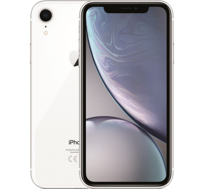 Apple iPhone Xr 64 GB Wit - Coolblue - Voor 23.59u, morgen in huis