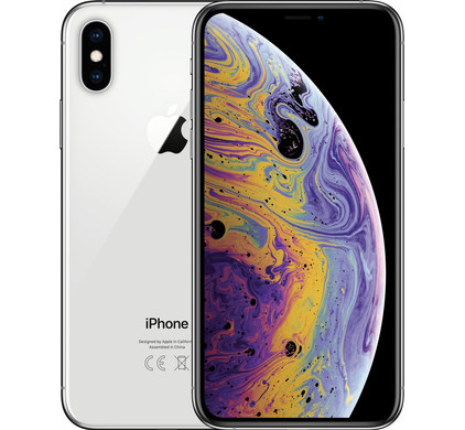 Apple iPhone Xs 64 GB Zilver - Coolblue - Voor 23.59u, morgen in huis