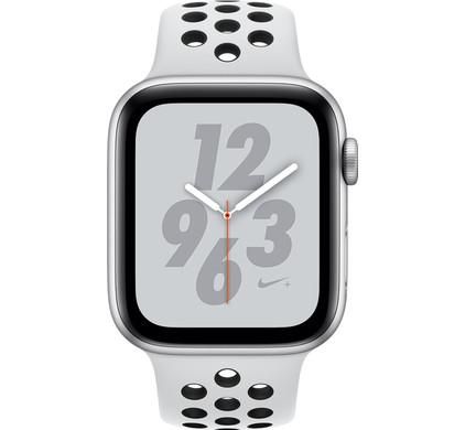 Apple Watch Series 4 40mm Nike+ Silver Aluminum/Sport Band Main Image