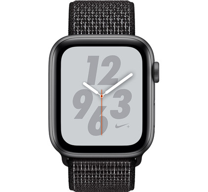 Apple Watch Series 4 40mm Nike+ Space Gray Aluminum/Nylon Sport Band Main Image