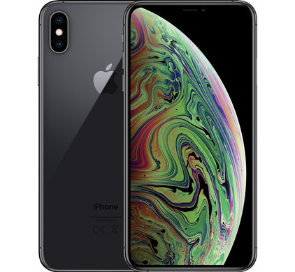 Apple iPhone Xs Max 512 GB Space Gray - Coolblue - Voor 23.59u, morgen in huis