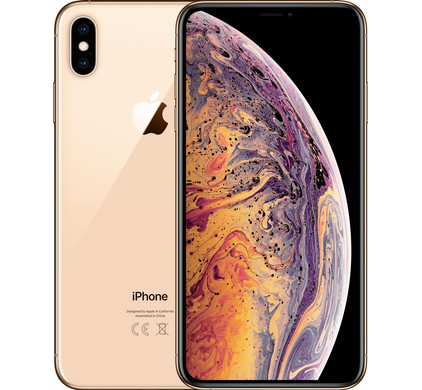 Apple iPhone Xs Max 512 GB Goud - Coolblue - Voor 23.59u, morgen in huis