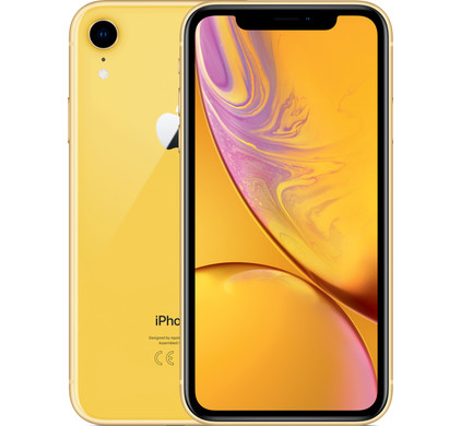 Apple iPhone Xr 64 GB Geel - Coolblue - Voor 23.59u, morgen in huis