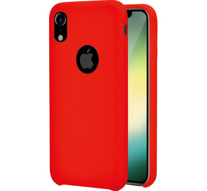 new concept 6da1d 50504 Azuri Rubber Apple iPhone Xr Back Cover Red