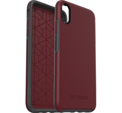 superior quality cae1c c59e8 Otterbox Symmetry Apple iPhone Xs Max Back Cover Red