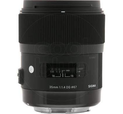 Sigma AF 35mm f/1.4 ART DG HSM Canon Main Image