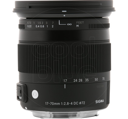 Sigma EF-S 17-70mm f/2.8-4 DC Macro OS HSM Canon Front